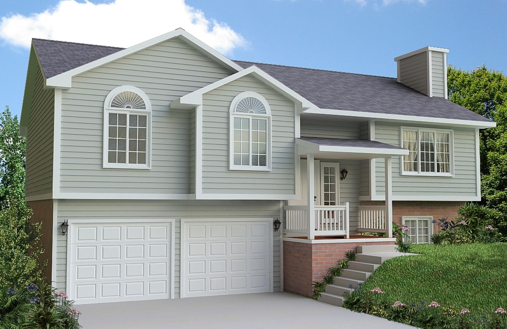 Front Porch Ideas For Split Level Home • Porches Ideas