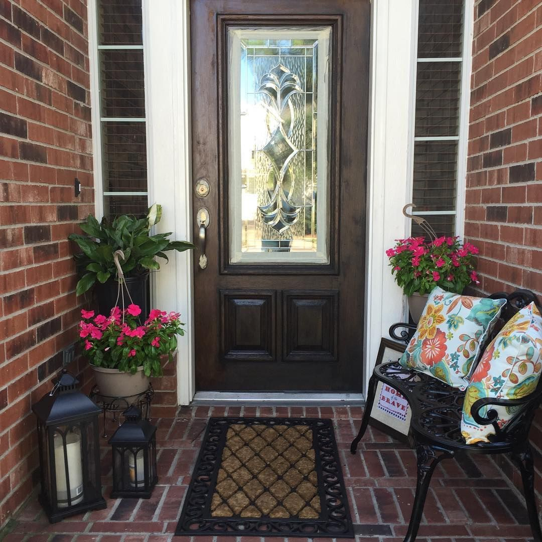 Decorating Ideas For A Small Front Porch Porches Ideas