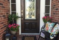 Spring Outdoor Decorating Small Front Porch Small Outdoor Living with regard to proportions 1080 X 1080