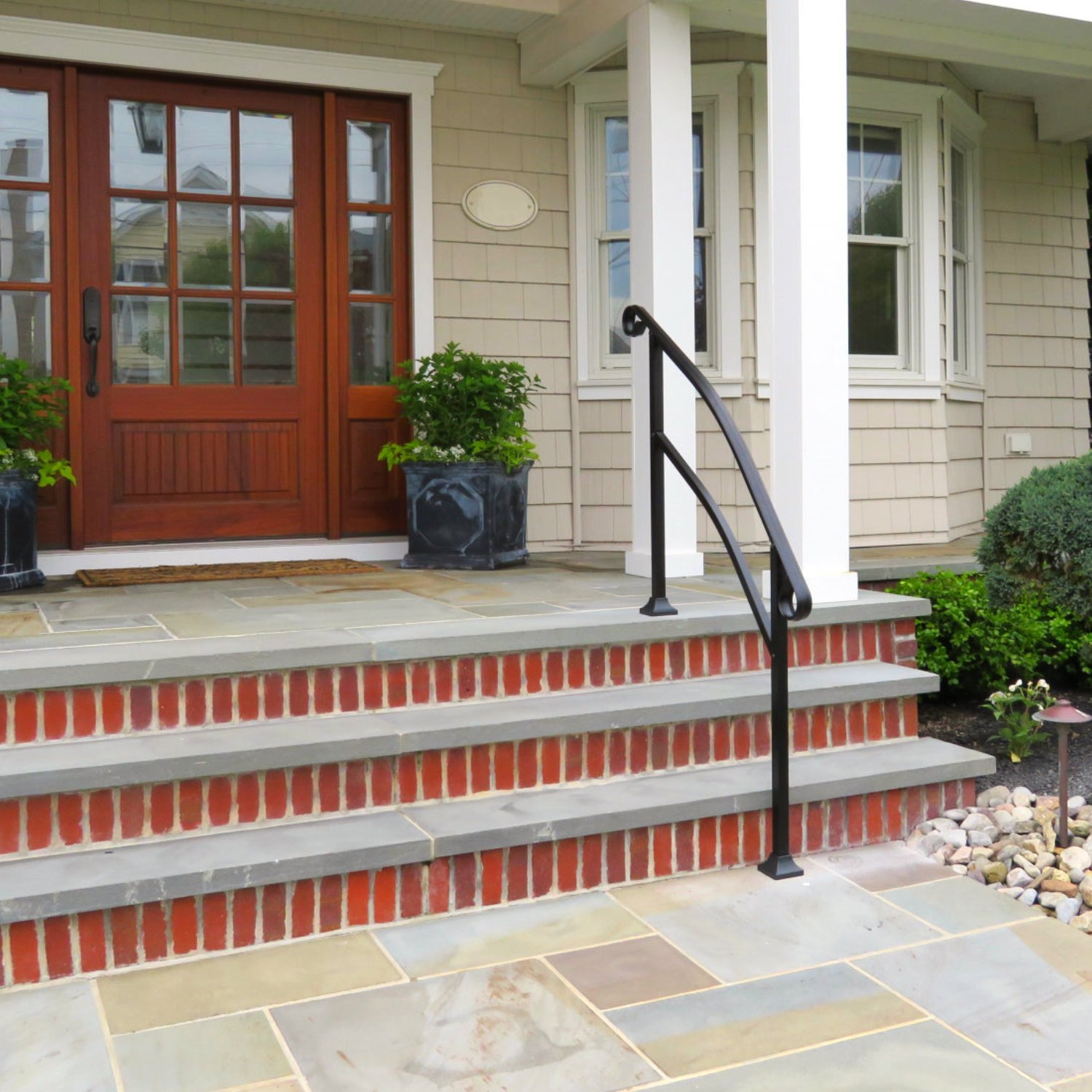 Stair Hand Rails For Porches And Decks Regarding Sizing 1500 X 1500