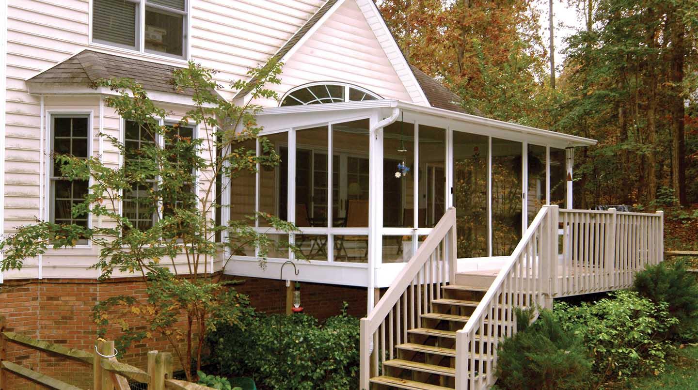 3 Season Porch Design Plans Porches Ideas