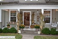 Vintage Home Love Fall Porch Ideas with sizing 1600 X 1066