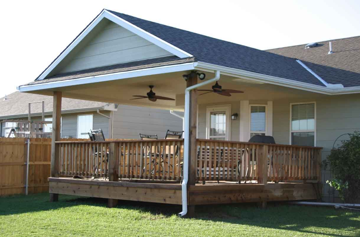 Want To Add A Covered Back Porch To Our House Next Year ... on Covered Back Deck Ideas id=31639