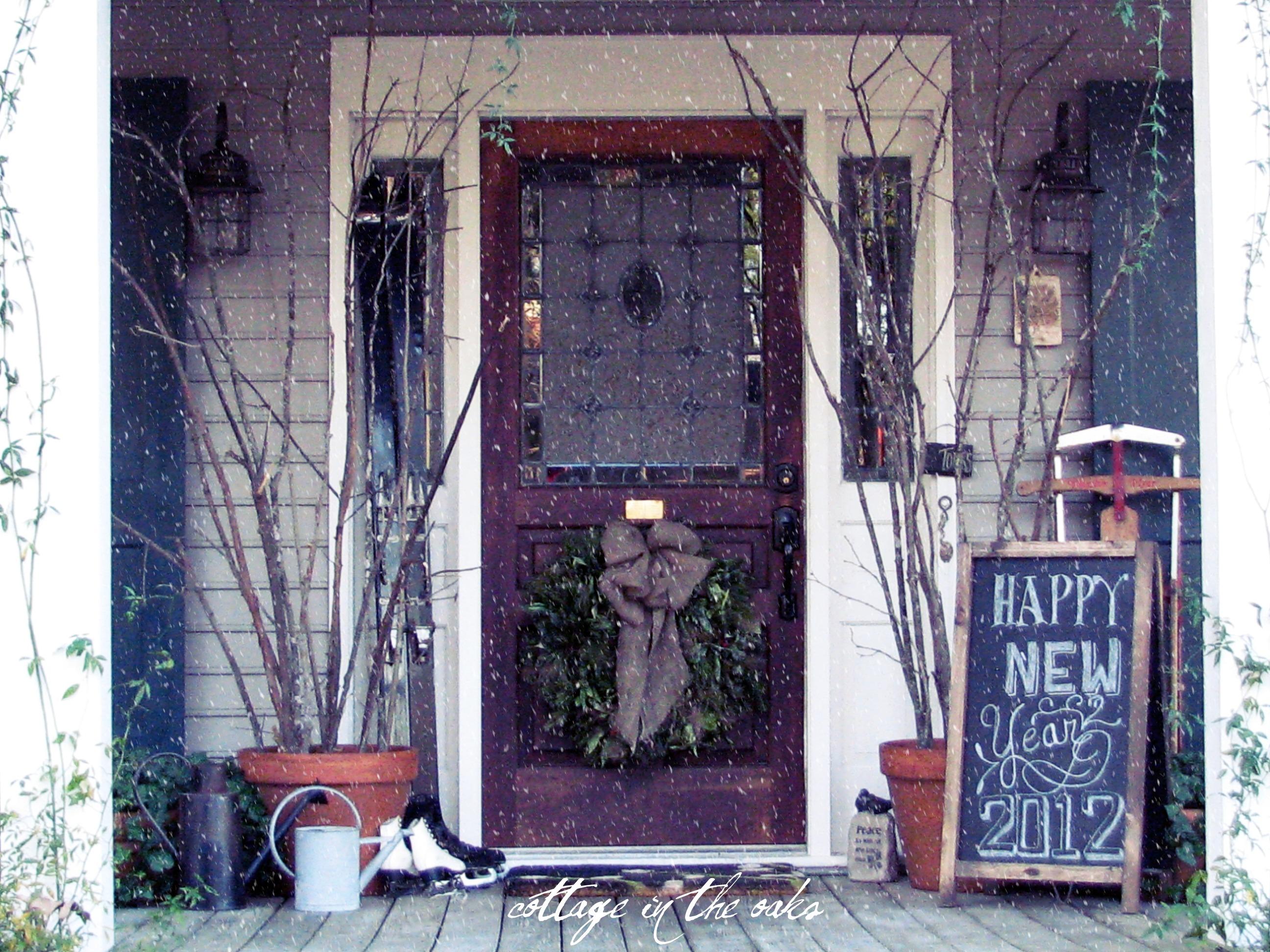 Outdoor Winter Porch Decorations Porches Ideas