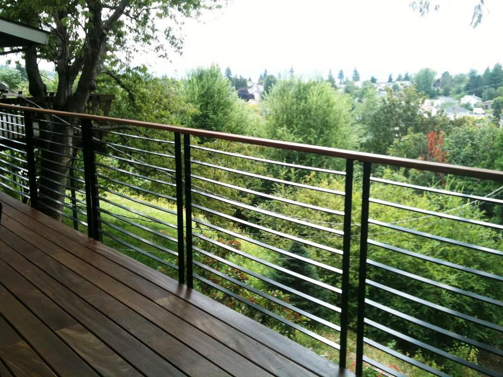 Wonderful Metal Porch Railings Railing Stairs And Kitchen ...
