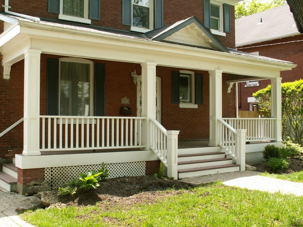 Wooden Front Porch Railing Ideas Perfect Front Porch Railing Ideas pertaining to dimensions 1024 X 768