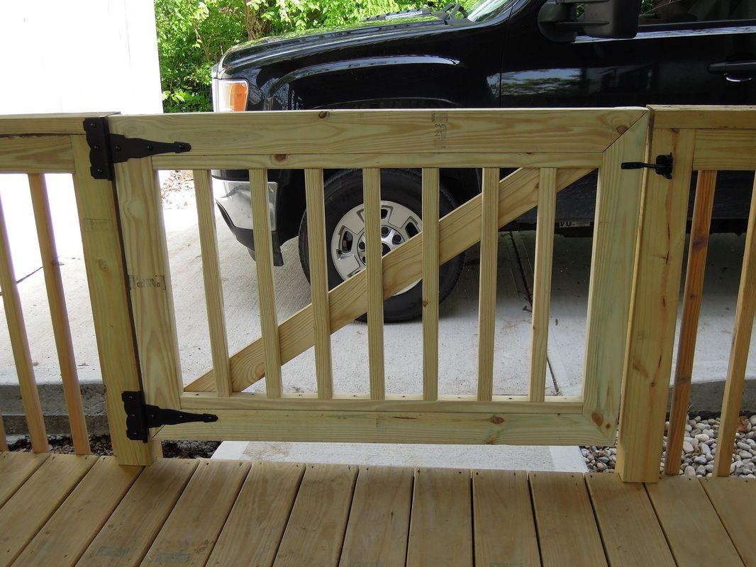 Wooden Porch Gates Porches Ideas