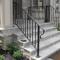 front porch steps handrails